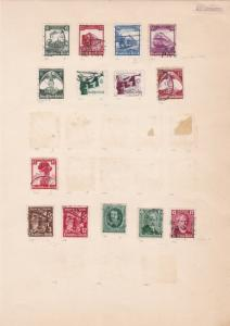 german 1934-36 stamps page ref 17451