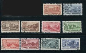Russia #2326-35 used - Make Me An Offer