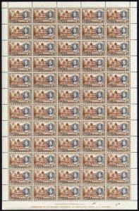 Tonga SG120 1962 Centenary 1d sheet of 60