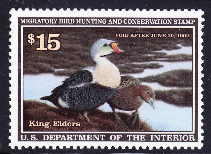 United States Nr.RW38 Duck Stamp of 1992 VF/NH(**)