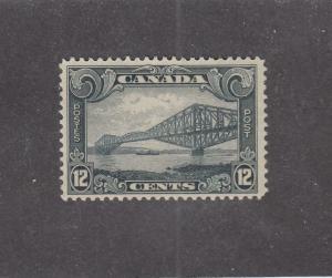 CANADA (MK878) # 156 FVF-MNH  5cts 1929 QUEBEC BRIDGE /GREY CAT VALUE $115