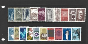Lot of 20 Mint NH Finland Pictorials