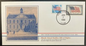 US #2278,1132 On Cover - Bicentennial of Constitution 1787-1987 [BIC87]