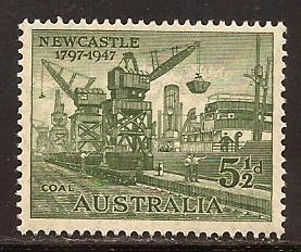 Australia  #  209  Mint  N H .         A