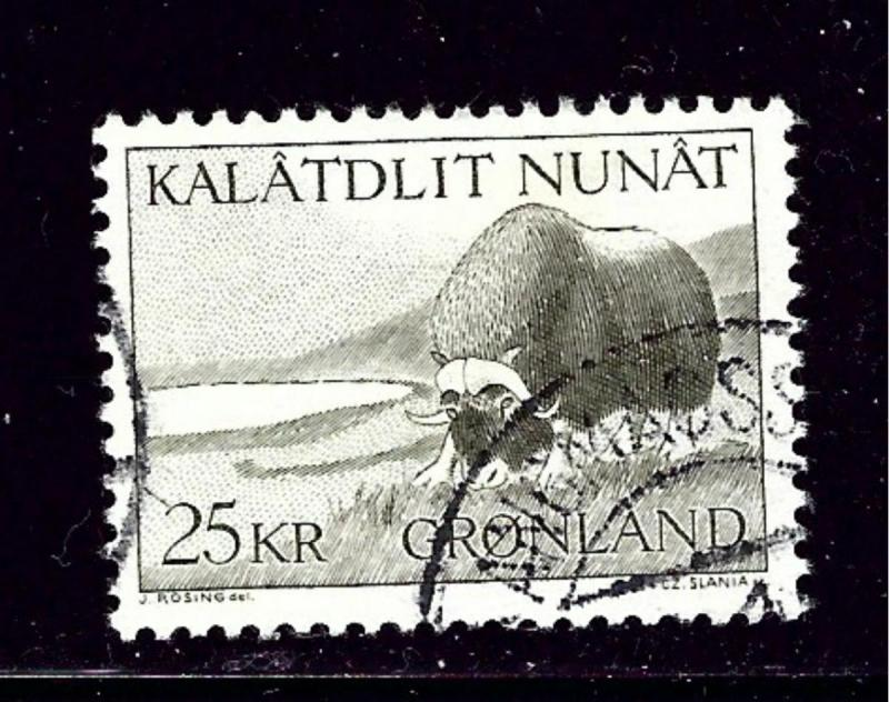 Greenland 75 Used 1969 issue