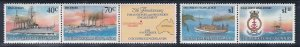 Cocos Islands # 210 & 210e, Naval Engagements in WWII, NH, 1/2 Cat.