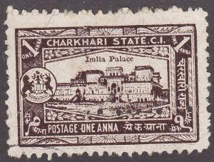 India Charkhari 29 Imilia Palace, Perf Error 1931