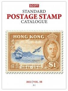 Scott Stamp Catalog 2022 Volume 3A & 3B - COUNTRIES G-I  Book  FREE SHIPPING!