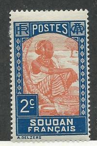French Sudan #62 Sudanese Woman (MLH)  CV $0.25