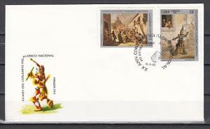 Caribbean Area, Scott cat. 2540-2541. Folklore issue. First day cover.