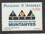 ANDORRA -SPANISH #280 MINT NEVER HINGED COMPLETE