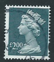 GB QE  II  SG Y1801 FU