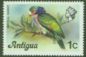 ANTIGUA Scott 406 Imperial Parrot Issue 1976 MH*