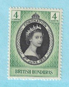 British Honduras 143 MNH 1953
