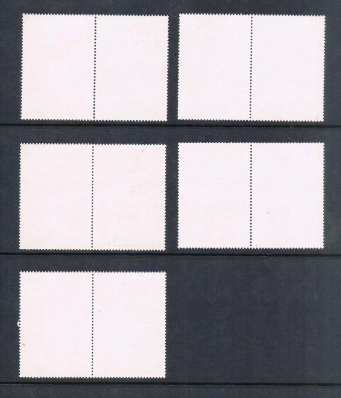 Taiwan 1971 Sc 1740-1749 pair set of 10 MNH
