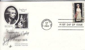 1965, Honoring John Singleton Copley, Artcraft, FDC (D15125)