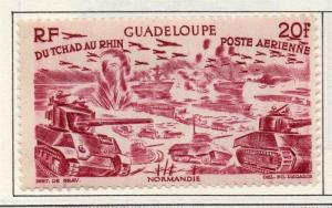 Guadeloupe 1946 AIR Early Issue Fine Mint Hinged 20F. 151876