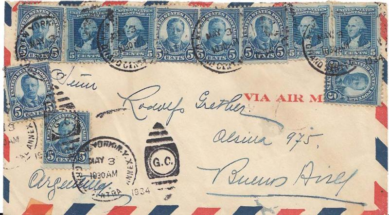 United States Washington Bicentennia 1934 Postal History