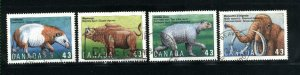 Canada #1529-32   -2   used VF 1994  PD