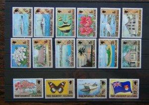 Gilbert Islands 1976 set to $2 LMM SG23 - SG38