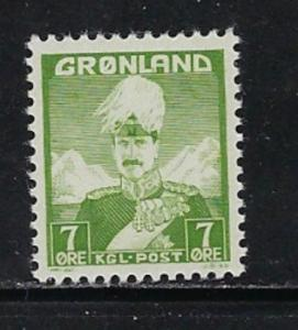 Greenland 3 NH 1938 issue