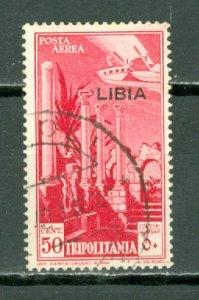 LIBYA AIR #C26...USED NO THINS...$0.25