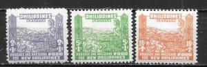 Philippines, NB1-3,  Phillipines Occupation Singles, **MNH (Sf2)