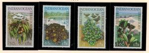British Indian Ocean Territory (BIOT) Stamps Scott #78 To 81 (78-81), Mint Li...