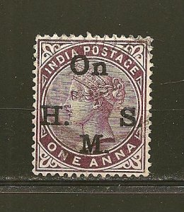India O28 Queen Victoria On HMS Used