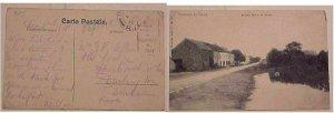 BELGIUM  GREAT BRITAIN APO RI DEC 1918 CENSOR CINEY