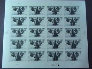 U.S.# 3803-MINT/NEVER HINGED--PANE OF 20---KOREAN WAR VETERANS MEMORIAL---2003