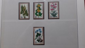 Germany 1978 Charity Stamps - Flowers Mint