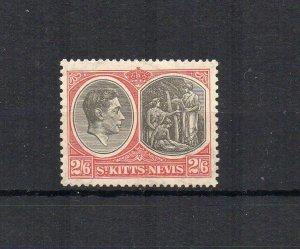 St Kitts-Nevis 1938-50 2s 6d UM