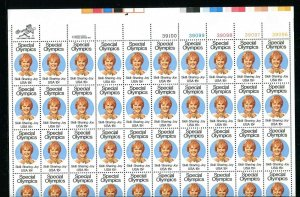 1788 Special Olympics Sheet of 50 15¢ Stamps Complete 1979