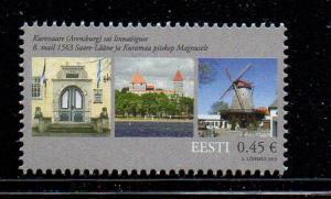 Estonia Sc 731 2013 Kuresaare 450 years stamp mint NH