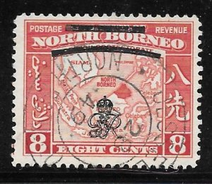 North Borneo 228: 8c Eastern Archipelago, used, F-VF