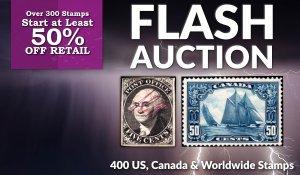Flash Stamp Auction #63