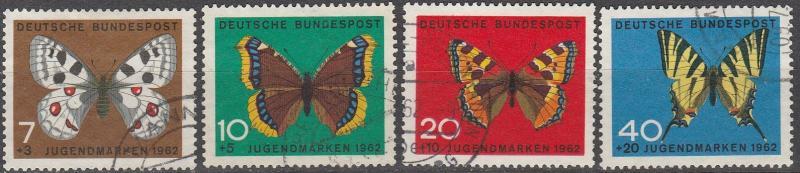 Germany #B380-83  F-VF Used CV $4.20 (D656)