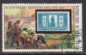 Burkina Faso 352 US 619 and Minutemen 1976