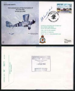 B17c 70th Ann of the Formation of No.11 Squadron Signed H. Constantine (W)