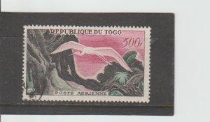 Togo  Scott#  C30  CTO  (1959 Flag, Plane, Map)