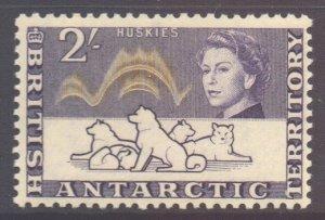British Antarctic Territory BAT Scott 11 - SG11, 1963 Elizabeth II 2/- MNH**