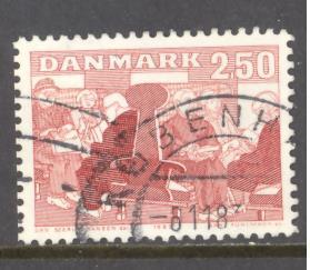 Denmark 746 used (DT)