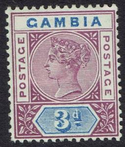 GAMBIA 1898 QV KEY TYPE 3D