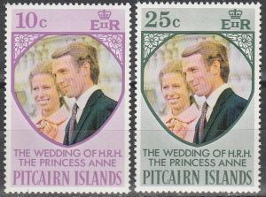 Pitcairn Is #135-6  MNH   (S9524)