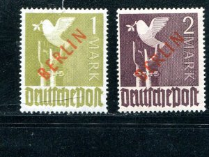 Berlin  #9N35 and 36  Mint F-VF   - Lakeshore Philatelics
