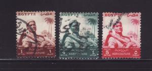 Egypt 368, 371-372 U Farmer (A)