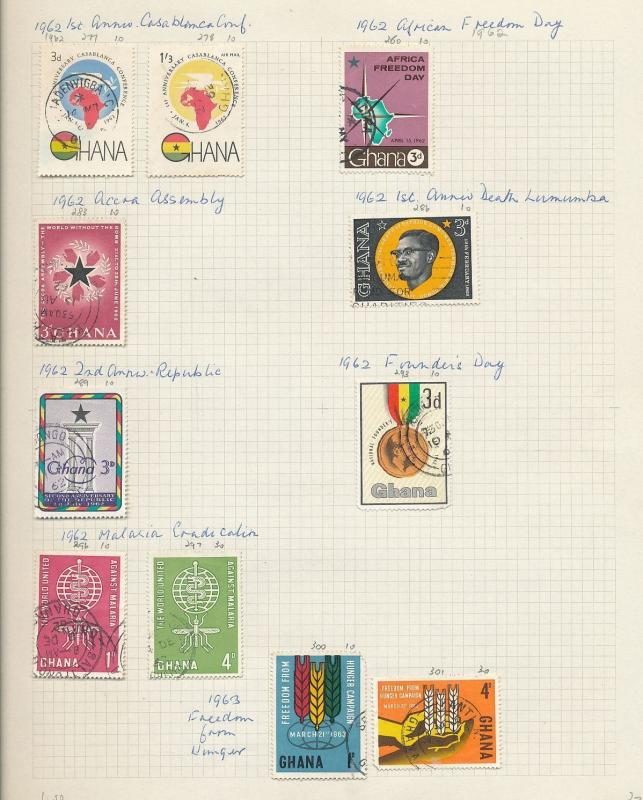 South Africa Ghana 1950s/60s Wildlife Flowers Soccer M&U 130+ AU9368