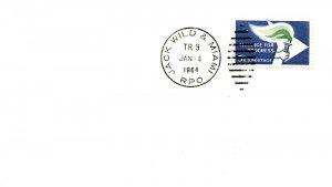 1964 Jack Wild & Miami R.P.O.Railroad #109