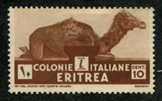 Eritrea ~ Italian Colony SC# 160 Camel 10c mint no gum